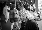 2012 May 08 - Woman at Pike Place Market, Seattle. Copyright Richard Walker