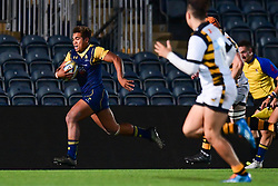 Ollie Lawrence of Worcester Cavaliers in action  - Mandatory by-line: Craig Thomas/JMP - 23/10/2017 - RUGBY - Sixways Stadium - Worcester, England - Worcester Cavaliers v Wasps - Aviva A League