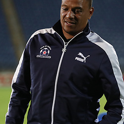 DURBAN, SOUTH AFRICA - APRIL 01: Arthur Bartman - Goalkeeper Coach of Maritzburg Utd during the Absa Premiership match between Maritzburg United and Ajax Cape Town at Harry Gwala Stadium on April 01, 2017 in Durban, South Africa. (Photo by Steve Haag/Gallo Images)