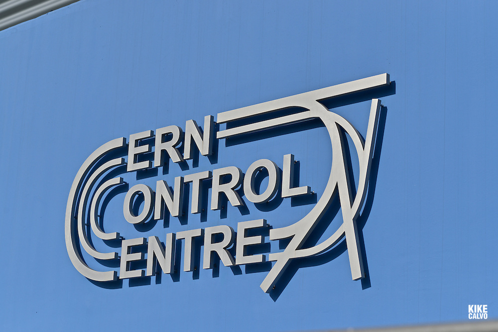 CERN Control Center. CERN is the European Organization for Nuclear Research, is the biggest particle physics laboratory in the world.
