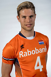 10-05-2017 NED: Selectie Nederlands volleybal team mannen 2017, Arnhem<br /> Op Papendal werd de selectie gepresenteerd / Thijs ter Horst #4
