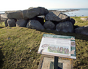 Le Trepied burial chamber, Guernsey, Channel Islands