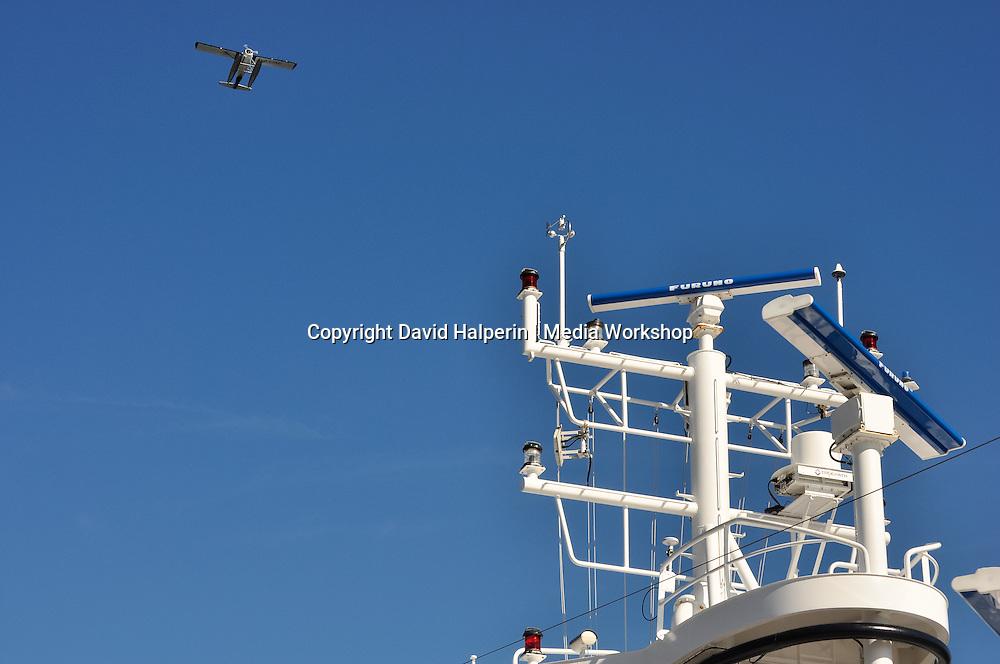 Tourism 2 ways: Cruise Ship Antennae + Seaplane