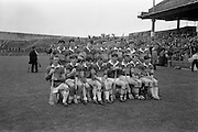 10/09/1967<br /> 09/10/1967<br /> 10 September 1967<br /> Under-21 Hurling Final: Dublin v Tipperary at Croke Park, Dublin.<br /> The Under-21 Tipperary team.
