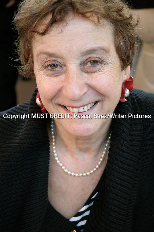 French writer Colette Guedj at the Salon du Livre (Book Fair) in Paris, March 2006<br /> <br /> Copyright Pascal Saez<br /> Pascal Saez / Writer Pictures