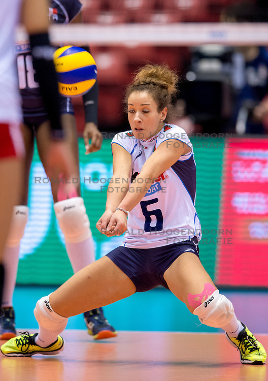 18-05-2016 JAP: OKT Peru - Italie, Tokio<br /> Itali&euml; verslaat Peru met 3-0 / Monica De Gennaro #6 of Italie