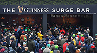 LONDON, ENGLAND - MARCH 17: Fans gathering before the NatWest Six Nations Championship match between England and Ireland at Twickenham Stadium on March 17, 2018 in London, England. (Photo by Ashley Western - MB Media via Getty Images)