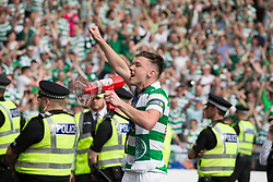 Celtic's Kieran Tierney after winning the William Hill Scottish Cup Final at Hampden Park, Glasgow.