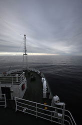 USA ALASKA CHUKCHI SEA 1AUG12 - Seascape seen from aboard the Esperanza in the Bering Sea, Alaska.....Photo by Jiri Rezac / Greenpeace....© Jiri Rezac / Greenpeace