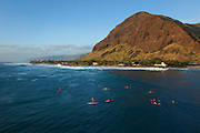 Makaha beach, Leeward, Oahu, Hawaii