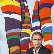 NLD/Amsterdam/20131227 - Journalist Max Westerman in zijn woning in Amsterdam