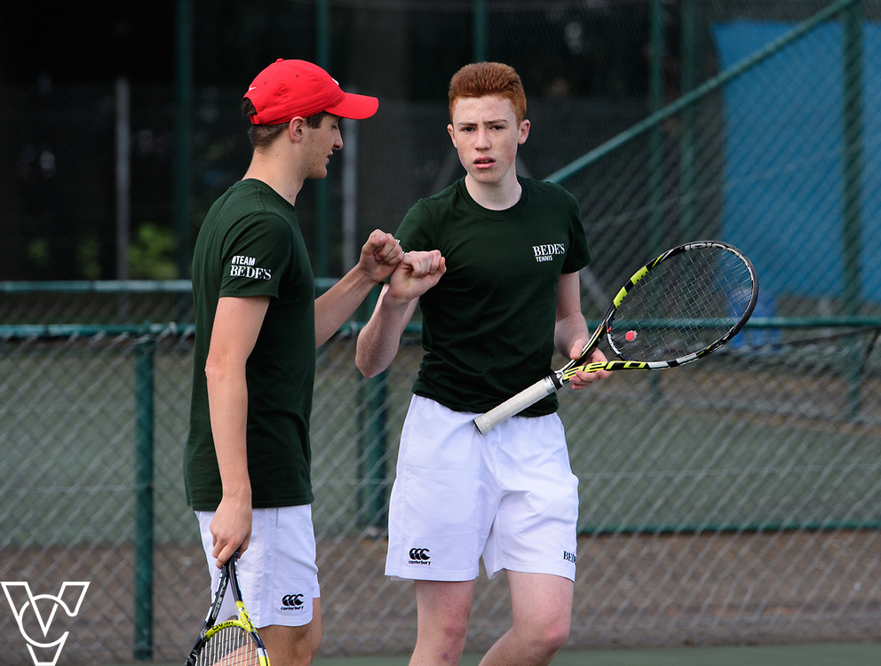 Team Tennis Schools National Championships Finals 2017 held at Nottingham Tennis Centre.  Bede's School<br /> <br /> Picture: Chris Vaughan Photography for the LTA<br /> Date: July 12, 2017