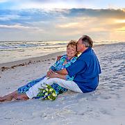 Gravlee Beach Vow Renewal Photos