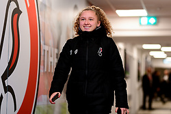 Katie Robinson of Bristol City arrives at Stoke Gifford Stadium prior to kick off - Mandatory by-line: Ryan Hiscott/JMP - 17/02/2020 - FOOTBALL - Stoke Gifford Stadium - Bristol, England - Bristol City Women v Everton Women - Women's FA Cup fifth round