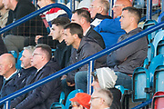 Dundee manager Neil McCann watches the wee derby from the Links Park stand - Dundee under 20s v Dundee United in the SPFL Development League at Links Park, Montrose<br /> <br />  - &copy; David Young - www.davidyoungphoto.co.uk - email: davidyoungphoto@gmail.com