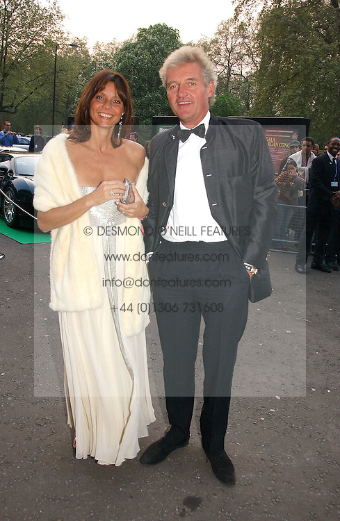 COUNT LEOPOLD &amp; COUNTESS DEBONAIRE VON BISMARCK at the NSPCC's Dream Auction held at The Royal Albert Hall, London on 9th May 2006.<br />