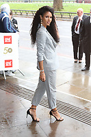 Vick Hope, The TRIC Awards 50th Anniversary 2019, The Grosvenor House Hotel, London, UK, 12 March 2019, Photo by Richard Goldschmidt