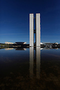 Brasilia_DF, Brasil.<br /> <br /> Palacio do Planalto, sede do Poder Executivo, localizado na Praca dos Tres Poderes, em Brasília, capital da Republica. <br /> <br /> Palacio do Planalto, headquarters of the Executive Branch of the Brazilian Government, located at the Praca dos Tres Poderes, in Brasília, Brazil.<br /> <br /> Foto: JOAO MARCOS ROSA / NITRO