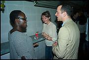 Lynette Yiadom-Boakye; MATTHEW SLOTOVER,  Frieze party, ACE hotel Shoreditch. London. 18 October 2014