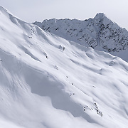 Freeride, Arlberg, Vorarlberg, Winter, Raphael Bullet, Sonnenkopf