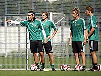 Fotball<br /> Østerrike<br /> 17.08.2009<br /> Foto: Gepa/Digitalsport<br /> NORWAY ONLY<br /> <br /> tipp3 Bundesliga powered by T-Mobile, SK Rapid Wien<br /> <br /> Bild zeigt Yasin Pehlivan, Markus Heikkinen, Ragnvald Soma und  Nikica Jelavic (Rapid)