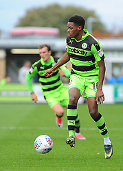 Reece Brown of Forest Green Rovers in action - Mandatory by-line: Nizaam Jones/JMP- 30/09/2017 - FOOTBALL - New Lawn Stadium - Nailsworth, England - Forest Green Rovers v Accrington Stanley - Sky Bet League Two