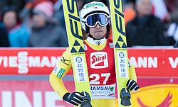 20.12.2015, Nordische Arena, Ramsau, AUT, FIS Weltcup Nordische Kombination, Skisprung, im Bild Yoshito Watabe (JPN) // Yoshito Watabe of Japan during Skijumping Competition of FIS Nordic Combined World Cup, at the Nordic Arena in Ramsau, Austria on 2015/12/20. EXPA Pictures © 2015, PhotoCredit: EXPA/ JFK
