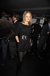 LADY ELOISE ANSON at the Quintessentially Christmas Party held at Kitts, Sloane Square, London on 2nd December 2008.