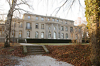 15 JAN 2002, BERLIN/GERMANY:<br /> Gedenk- und Bildungsstaette Haus der Wannsee-Konferenz, Am Grossen Wannsee 56-58, 14109 Berlin<br /> IMAGE: 20020115-01-037
