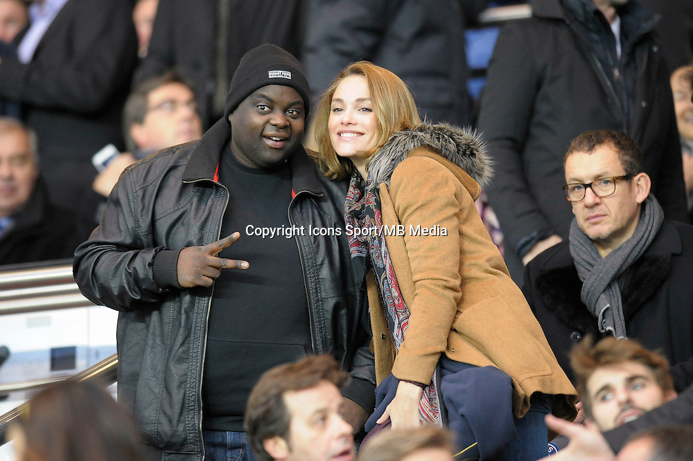 Issa Doumbia / Joy Esther - 06.12.2014 - PSG / Nantes - 17eme journee de Ligue 1<br />
