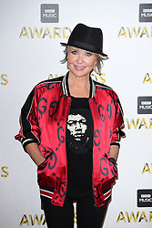 Lulu attending the BBC Music Awards at the Royal Victoria Dock, London. PRESS ASSOCIATION Photo. Picture date: Monday 12th December, 2016. See PA Story SHOWBIZ Music. Photo credit should read: Ian West/PA Wire