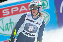 17.01.2016, Hermann Maier Weltcupstrecke, Flachau, AUT, FIS Weltcup Ski Alpin, Flachau, Damen, Riesenslalom, 2. Lauf, im Bild Marta Bassino (ITA) // Marta Bassino of Italy reacts after her 2nd run of Ladie's Giant Slalom for the FIS Ski Alpine World Cup at the Hermann Maier Weltcupstrecke in Flachau, Austria on 2016/01/17. EXPA Pictures © 2016, PhotoCredit: EXPA/ Erich Spiess