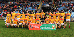 Castlebar Mitchels before the County Senior final at McHale park on sunday last.<br /> Pic Conor Mckeown