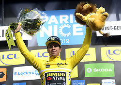 March 10, 2019 - Saint-Germain-En-Laye, France - Saint-Germain-en-Laye, France - March 10 : DYLAN GROENEWEGEN of TEAM JUMBO - VISMA during stage 1 of the 2019 Paris - Nice cycling race with start and finish in Saint-Germain-en-Laye (138,5km) on March 10, 2019 in Saint-Germain-en-Laye, France, 10/03/2019 (Credit Image: © Panoramic via ZUMA Press)