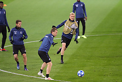 November 27, 2018 - Dortmund, GERMANY - Club's Mats Rits, Club's Ruud Vormer and Club's Saulo Decarli pictured during a training session of Belgian soccer team Club Brugge KV in Dortmund, Germany, Tuesday 27 November 2018. Tomorrow Club will meet German team Borussia Dortmund on day five of the UEFA Champions League, in group A. BELGA PHOTO BRUNO FAHY (Credit Image: © Bruno Fahy/Belga via ZUMA Press)