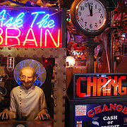 Marvin's Marvelous Mechanical Museum<br /> The museum contains items of magic, neon, antiques, posters, airplanes, robots, animation, and all sorts of odd and unusual coin operated games. The coin operated games are the main attraction, and range from the oldest gypsy fortune telling machine of the early 1900's, to the latest video games. All the games are operational. Admission to Marvin's is FREE.
