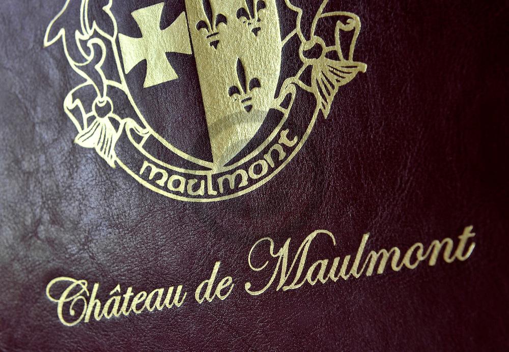 20/04/11 - SAINT PRIEST BRAMEFANT - PUY DE DOME - FRANCE - Chateau de Maulmont, hotel 3 etoiles. Castle of Maulmont in France, french quality hotel - Photo Jerome CHABANNE
