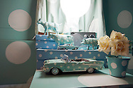 """Cape Town, South Africa, September 2011. Grand Daddy Hotel Airstream """"trailer park"""". They hauled seven classic American Airstream trailers up onto the Penthouse level in Long Street, the most bo-ho address in town, and invited the city's top inerior designers to jazz them up, so there're all shiny aluminium on the outside and different inside. There's an African one, an Elvis one, John and Yoko, Dorothy and so on. They all have aircon, hot and cold running water, flush loos and showers and each has its own teeny private garden. Photo by Frits Meyst/Adventure4ever.com"""