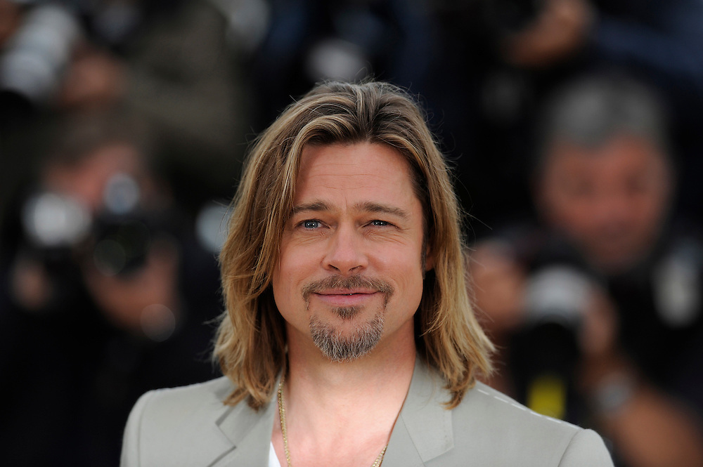 US actor Brad Pitt at the photocall of 'Killing them Softly' presented in competition at the 65th Cannes film festival on May 22, 2012 in Cannes..Photo Ki Price.
