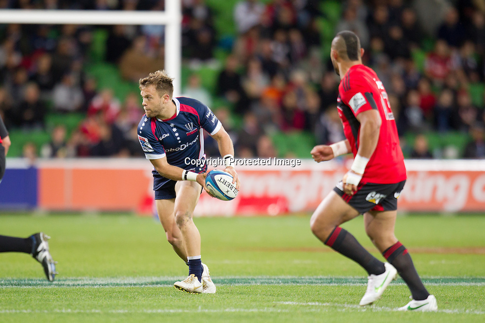 Lachlan Mitchell - Crusaders, Melbourne Rebels v Canterbury Crusaders 28-19, 12 May 2012