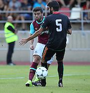 FC Lusitanos v West Ham United 090715