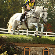 Blair King and Kings Whisper at the 2007 Fair Hill International CCI3* in Elkton, Maryland.