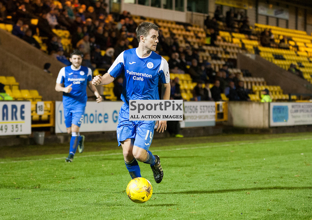 Livingston v Queen of the South, Scottish Championship, 2 January 2016, Kyle Jacobs (Queen of the South, 14) during the Livingston v Queen of the South Scottish Championship match played at the Toni Macaroni Arena, © Chris Johnston | SportPix.org.uk