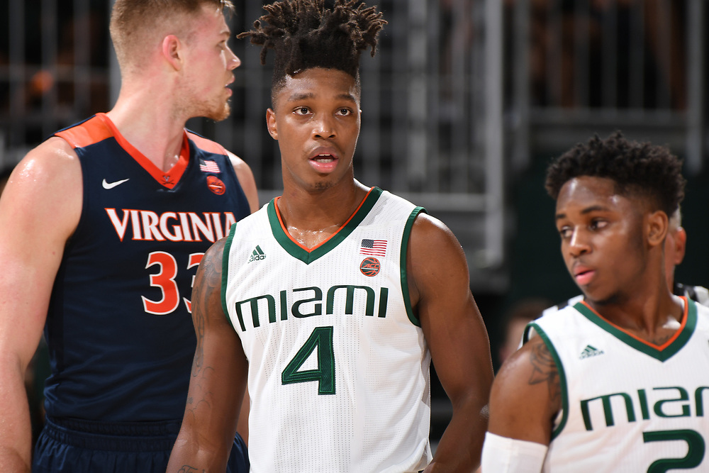 2018 Miami Hurricanes Men's Basketball vs Virginia