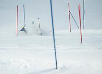 Tecnica Cup Slalom at Gunstock February 1, 2014.  ©2014 Karen Bobotas Photographer