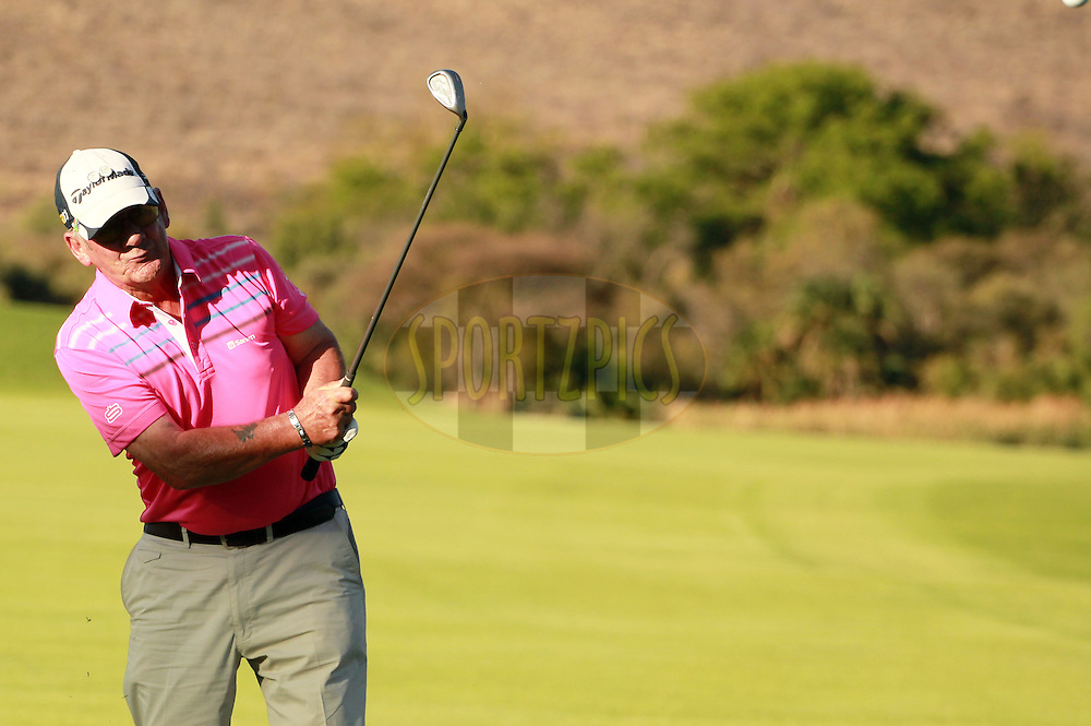 Paul Barrett during the second round of the Sanlam Cancer Challenge Finals held at the Gary Player Golf Club in Sun City near Johannesburg on the 22nd October 2013. Photo by Jacques Rossouw - SPORTZPICS