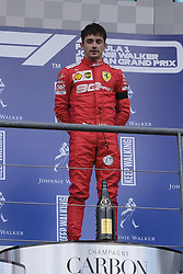 September 1, 2019, Spa Francorchamps, Belgium: Ferrari Driver CHARLES LECLERC (MC) in action during the race of the Formula one Johnnie Walker Belgian Grand Prix at the SPA Francorchamps circuit - Belgium..Charles Leclerc wins his first Formula One Grand Prix (Credit Image: © Pierre Stevenin/ZUMA Wire)