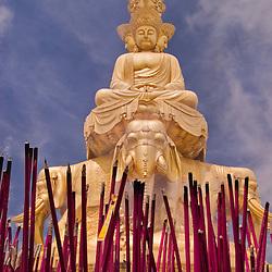 Golden Summit Temple. Emei Shan, Sichuan, China.