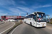 ROTTERDAM - 30-04-2017, AZ - Vitesse, finale KNVB beker, Stadion De Kuip, bus