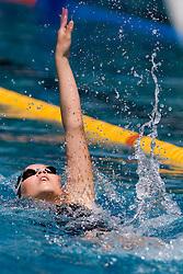 Sara Traven of PK Triglav Kranj (SLO) competes during the 35th International Swimming meeting Ljubljana 2010, on May 23, 2010 at Kodeljevo pool, Ljubljana, Slovenia. (Photo by Vid Ponikvar / Sportida)